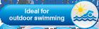 Ideaal voor buiten zwemmen