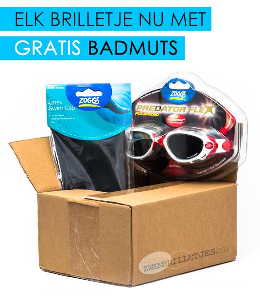 Gratis badmuts op zwembrilletjes.eu