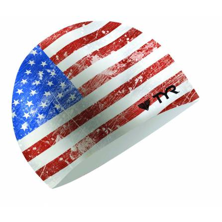 TYR Old Glory Flag badmuts silicone