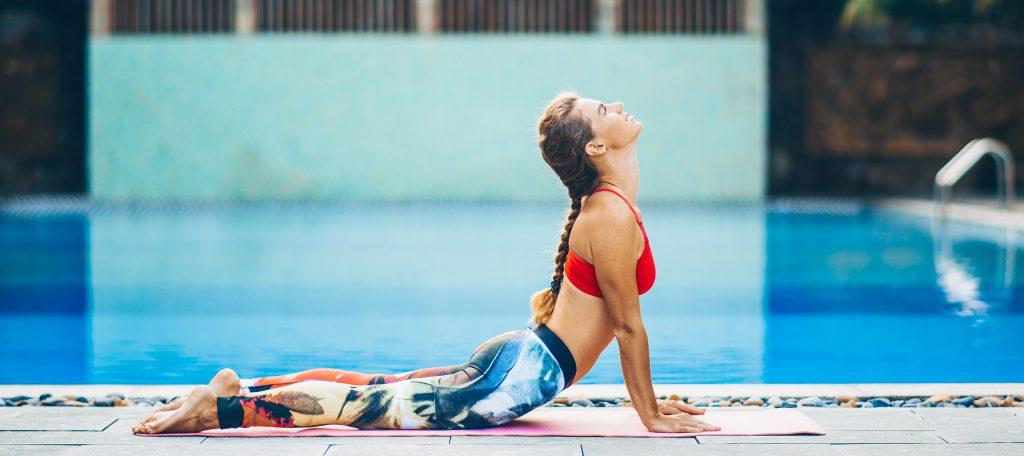 Zwemmen of yoga