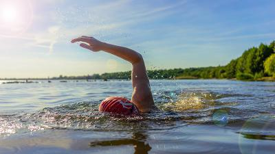 Open water zwembril